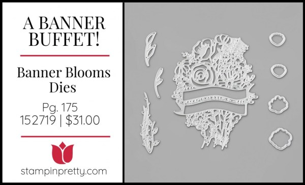 Banner Blooms Dies by Stampin' Up!
