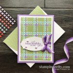 Create this card using the Best Year Bundle from Stampin