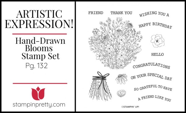 Hand-Drawn Blooms Stamp Set by Stampin' Up!