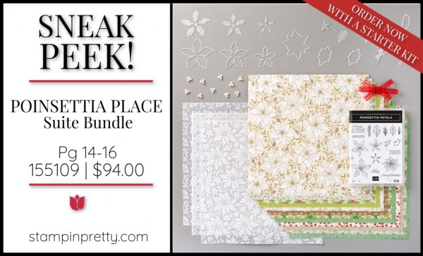 Sneak Peek Poinsettia Place Suite Bundle Stampin' Up! 155109 $94.00 (1)