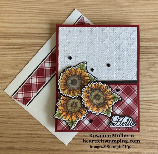 Stampin' Pretty Pals Sunday Picks 08.09 Rosanne Mulhern