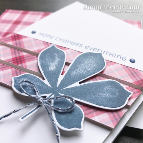 Love of Leaves Bundle from Stampin' Up! Card created by Mary Fish, Stampin' Pretty