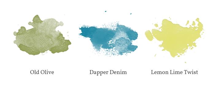 Color inspiration for dragon birthday card