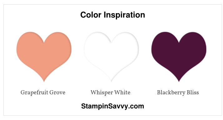 Friendship card Color Inspiration