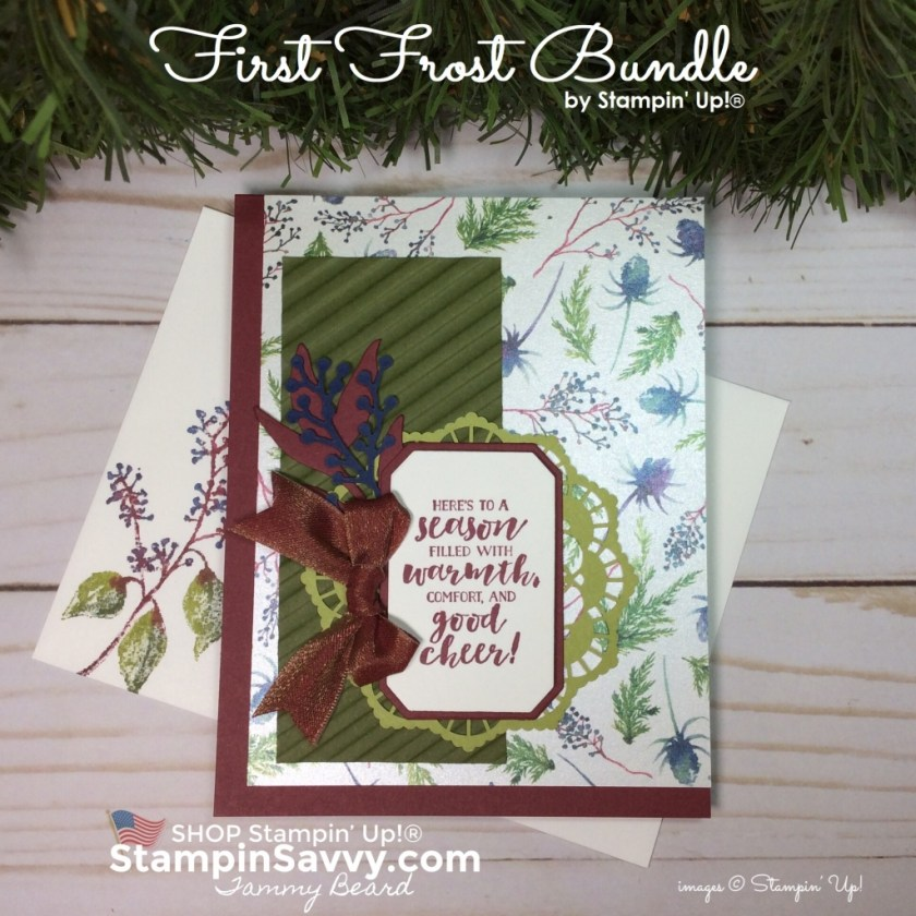 frosted floral suite, first frost, frosted bouquet, stampin up cards, stampinup, card ideas, stampinup, stampin savvy, tammy beard