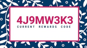 July-Aug-2020-Reward Code 4J9MW3K3