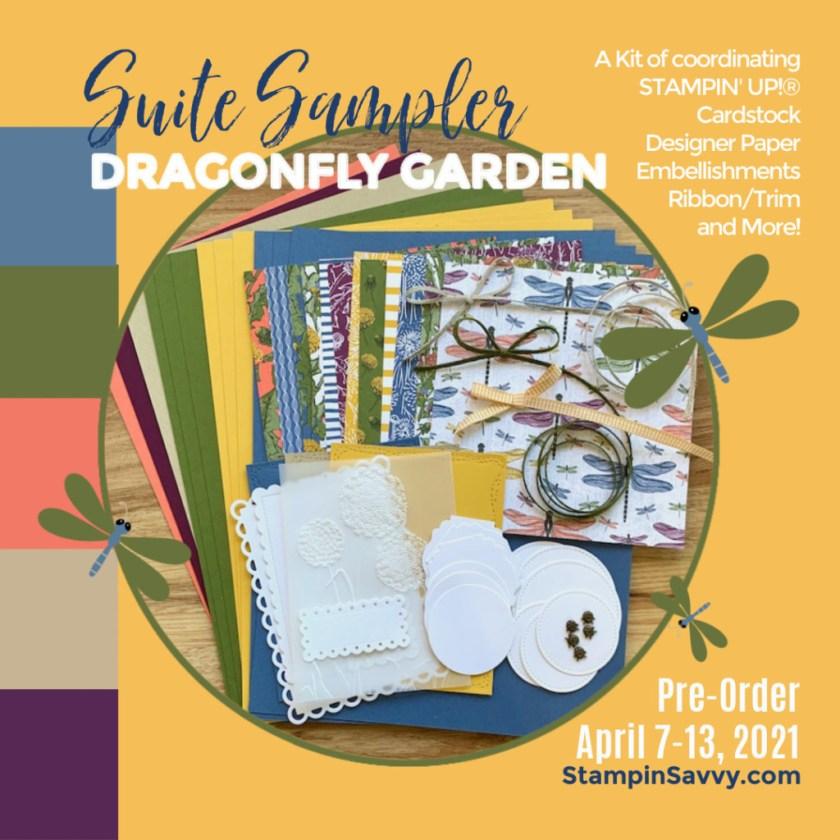 DRAGONFLY GARDEN SUITE SAMPLER PREORDER APRIL 7-13, 2021