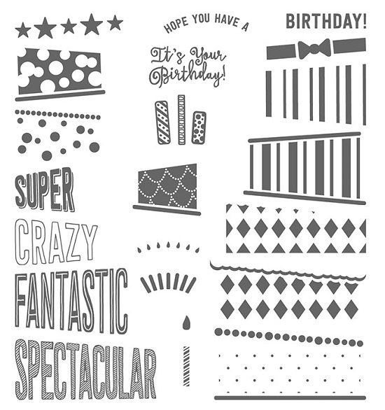 Cake Crazy stamp set
