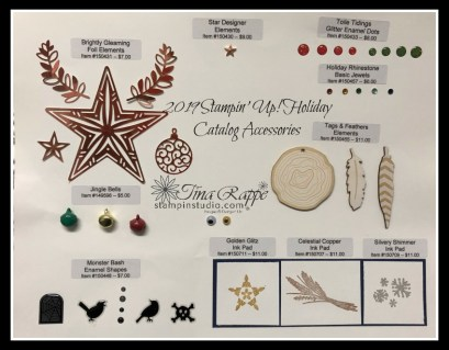 Stampin' Up! Holiday Catalog Ribbons & Accessories, Stampin' Studio