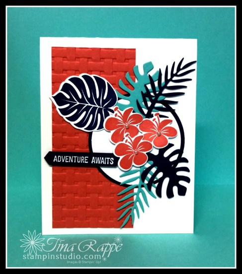 Stampin' Up! Tropical Chic stamp set, Tropical Dies, Stampin' Studio