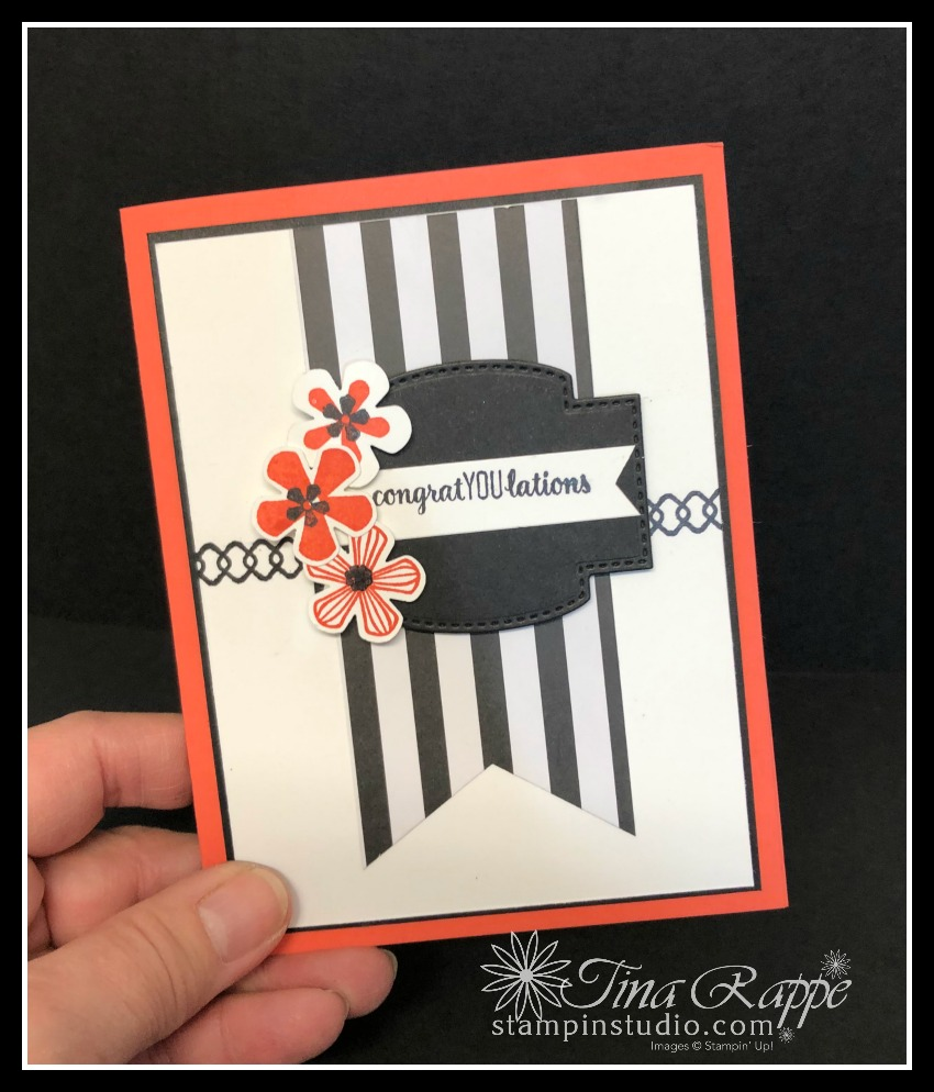 Stampin' Up! Thoughtful Blooms stamp set, Small Bloom Punch, Stampin' Studio