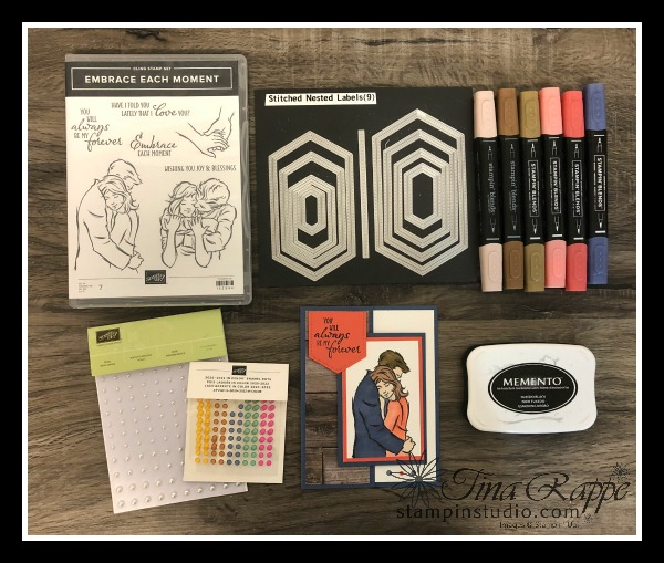 Stampin' Up! Embrace Each Moment stamp set, How to shade with Stampin' Blends, Stampin' Studio