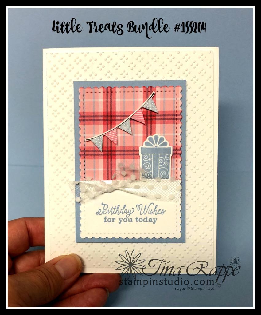 Stampin' Up! Little Treats Bundle, Little Treats stamp set, Little Treat Box Dies, Stampin' Studio