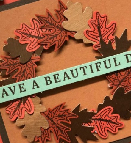 Stampin' Up! Beautiful Autumn Framed Art, Gilded Autumn Suite, Stampin' Studio