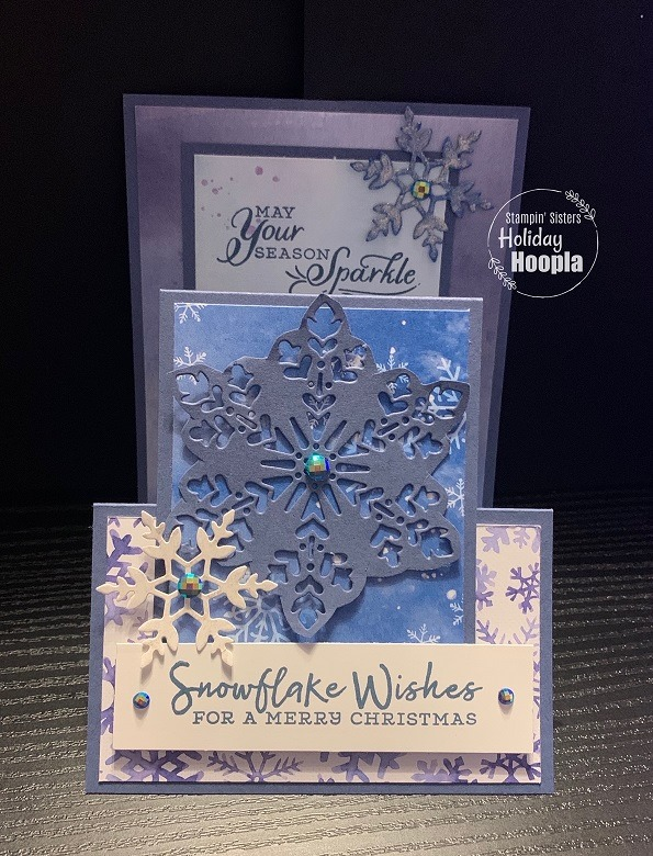 Stampin' Up! Snowflake Splendor Suite, Stampin' Sisters Holiday Hoopla, Stampin' Studio