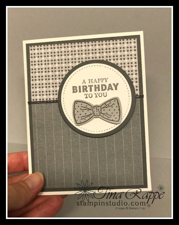 Stampin' Up! Well Suited Suite, Handsomely Suited Bundle, Stampin' Studio
