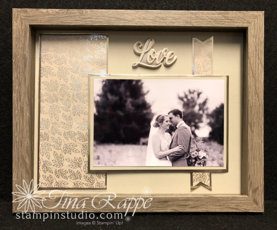 Stampin' Up! Love You Always Framed Art, Stampin' Sisters Retreat, Stampin' Studio