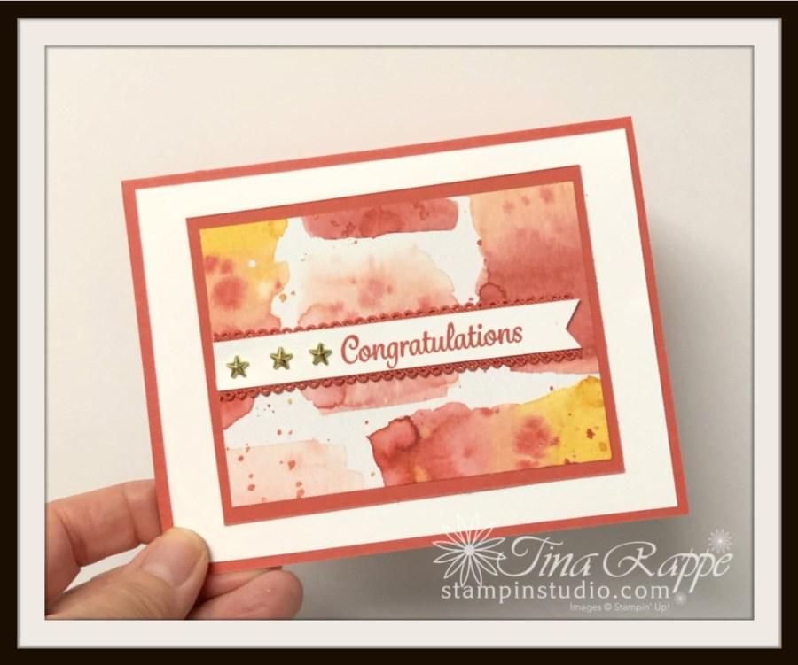 Stampin' Up! Happy Thoughts stamp set, Ice Cream Corner DSP, Stampin' Studio