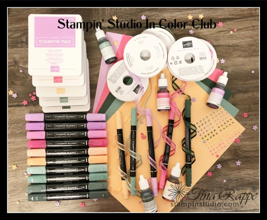 Stampin' Up! 2021-2022 In Colors, In Color Club,  Stampin' Studio