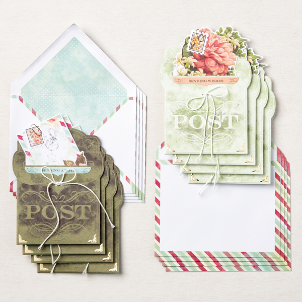 Stampin' Up! Kit Collection,  Precious Parcel Card Kit, Stampin' Studio