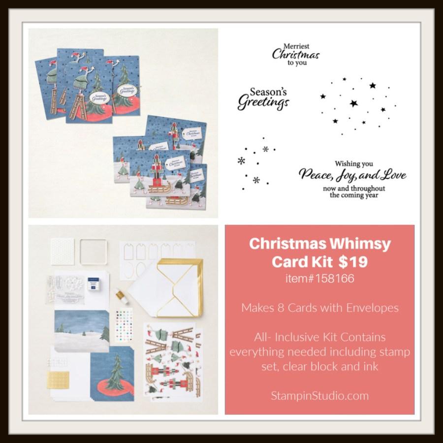 Stampin' Up! Christmas Whimsy Card Kit, Stampin' Studio