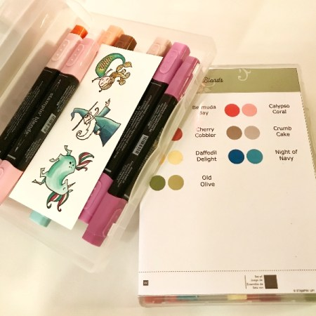 stampin blends storage opslag