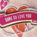 Sure do love you stampin up