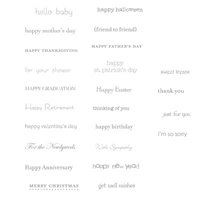 Teeny Tiny Wishes Clear-Mount Stamp Set