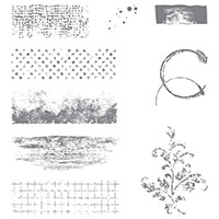 Timeless Textures Clear-Mount Stamp Set