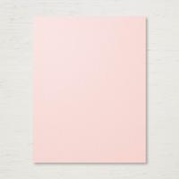 Powder Pink 8-1/2 x 11 Cardstock