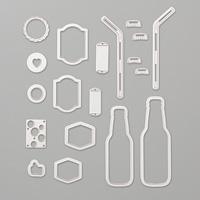 Bottles & Bubbles Framelits Dies