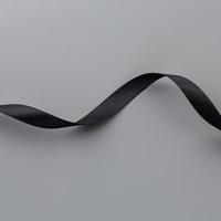Black 1/2 (1.3 cm) Satin Ribbon