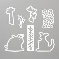 Animal Friends Thinlits Dies