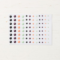 faceted dot stickers