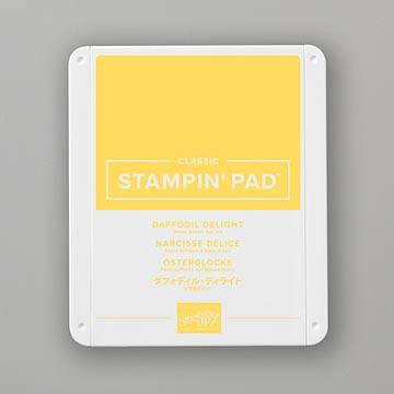 light yellow stamp pad