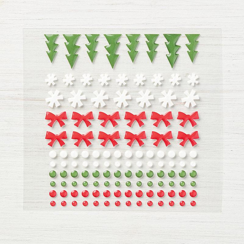 Santa's Workshop Enamel Shapes