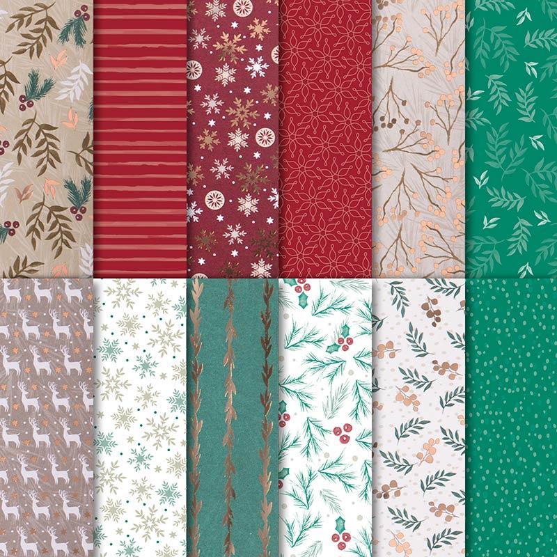 """Joyous Noel 12"""" x 12"""" (30.5 x 30.5 cm) Specialty Designer Series Paper"""