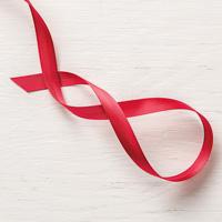 Real Red 3/8 (1 cm) Mixed Satin Ribbon