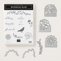 Botanical Bliss Clear-Mount Bundle