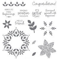 Happiness Surrounds Photopolymer Stamp Set