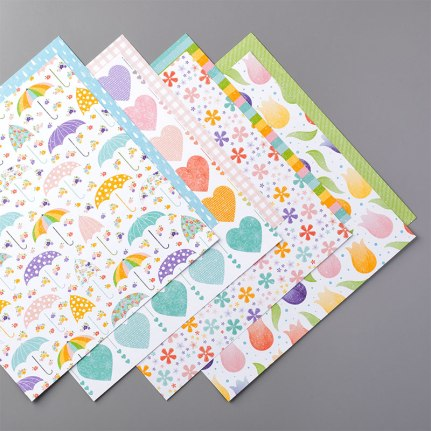 PLEASED AS PUNCH DESIGNER SERIES PAPER