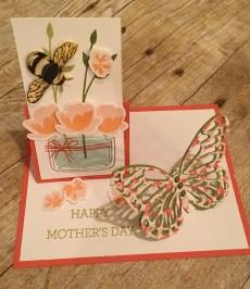 Jar Of Love Easel Card