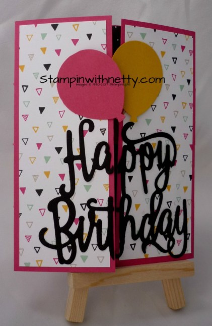 Secret Message Birthday Card1 Stampin' Up! Annette McMillan 19032018