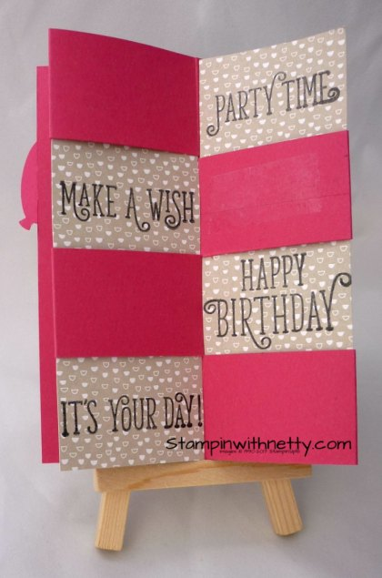Secret Message Birthday Card3 Stampin' Up! Annette McMillan 20032018