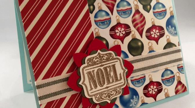 Retro Noel Card & Tag Set