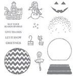 Sparkly Seasons Photopolymer Stamp Set139825 Price: $26.00