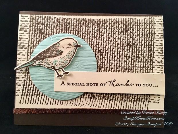 Best birds Stamp Set by Stampin' UP