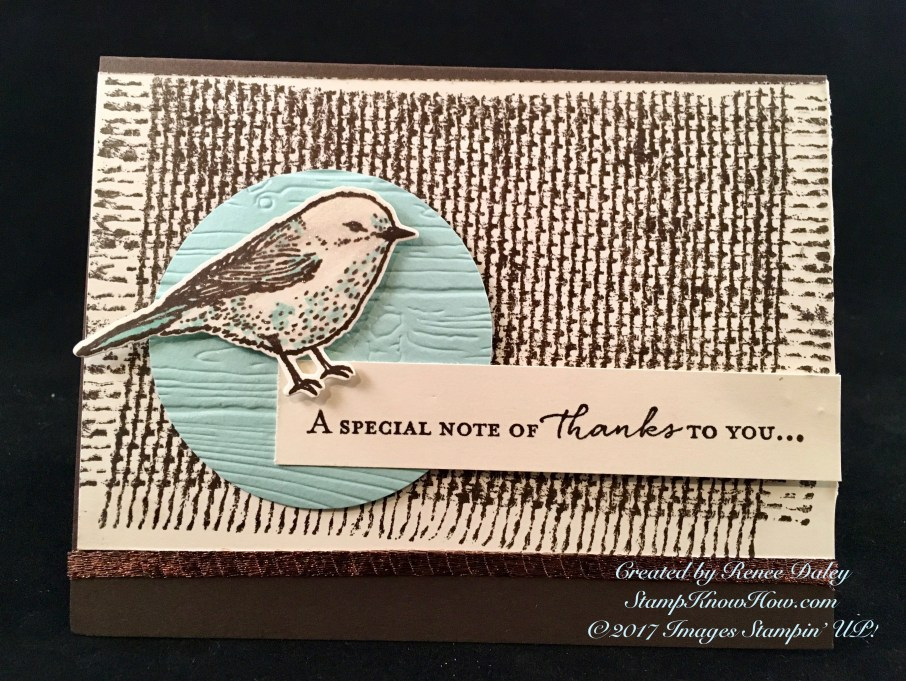 Best birds Stamp Set by Stampin' UP