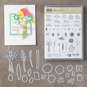 Stampin' UP Beautiful Bouquet Bundle