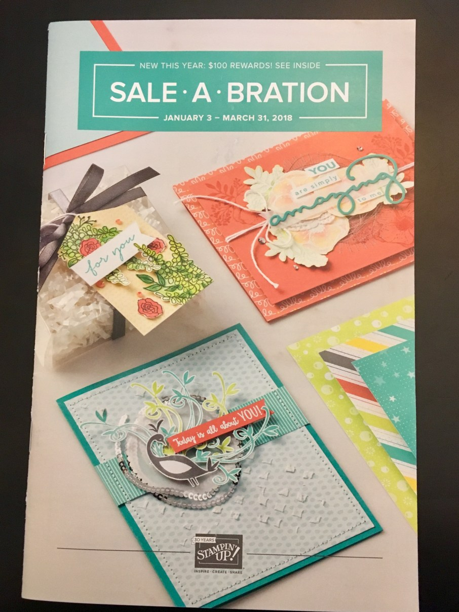 Image of Sale-a-bration brochure cover 2018